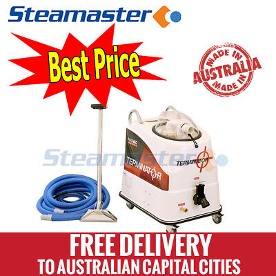 Polivac Terminator carpet steam cleaning machine cleaner equipment wand kit hose