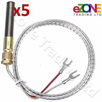 5x Gas Fryer Thermopile Thermocouple 2-Wire IMPERIAL ELITE FRYMASTER DEAN PITCO