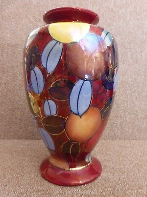 A Charlotte Rhead Vase pattern 735 by Bursley Ware in excellent condition