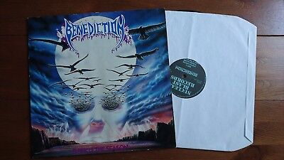 Benediction - Dark Is The Season EP - 1992 NB059 - first press uk death metal lp