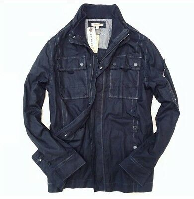 Jeremiah // [$198] Men's Thorne waxed canvas field military jacket, size Large
