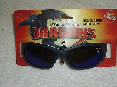 New Dreamworks Dragons  Boy's Sunglasses 100% Uv Protection