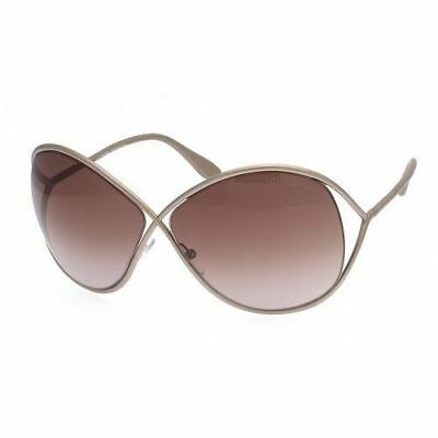 Authentic Tom Ford Sunglasses Liliana TF131 57F Brown Frames Brown Lens 66MM db11a701143