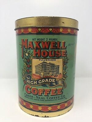 1979 Maxwell House Reproduction 1920s Tin by Cheinco