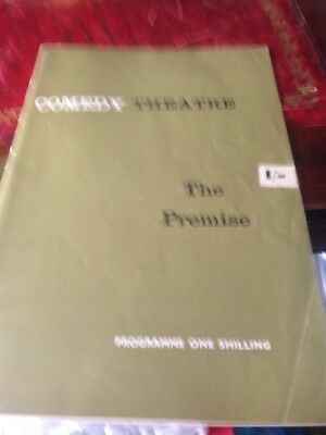 """Comedy Theatre Programme from 1962 """"The Premise"""""""
