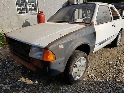 Ford Escort S1 RS Turbo /project track car