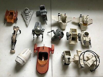 """Star Wars TOP CANOPY Part for 1981 7/"""" INT-4 Mini-Rig Vehicle Vintage Broken Tab"""
