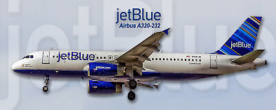 JetBlue Airways Airbus A320 Handmade Photo Magnet (PMT1535)