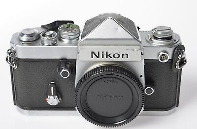 Nikon F2 35mm camera Body only, serial No.7831578, no battery included.