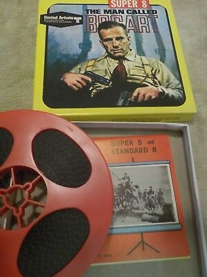 Super 8 Mm Movie United Artist The Man Called Bogart 2201 1967 Awesome Box