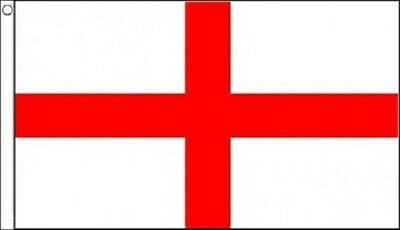 England St George Cross National Flag Large 3' x 2' Football Sport Pub Support