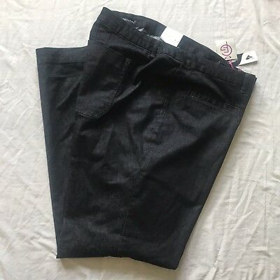 NWT Lane Bryant Flare Stretch Jeans Size 28~ Tighter Tummy Technology