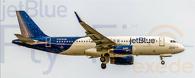 "JetBlue Airways ""Fly-Fi"" Airbus A320 Handmade Photo Magnet (PMT1670)"
