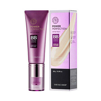 [THE FACE SHOP] Power Perfection BB Cream - 20g (SPF37 PA++) / Free Gift