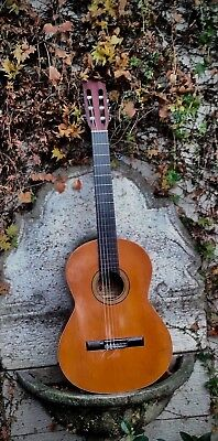 Alhambra Classical Guitar 1C, 1970 vintage, made in Spain.