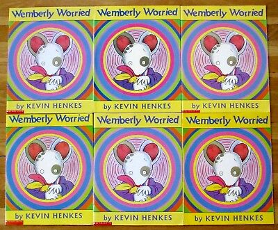 Lot 6 WEMBERLY WORRIED Kevin Henkes guided reading