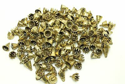 25-ct Vintage Small Miniature Brass Bell Elephant Claw Lot