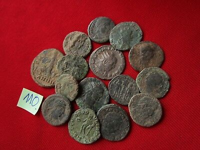 QUALITY UNCLEANED COINS - Ancient Roman - VERY GOOD. Lot with 15 pieces .No.110