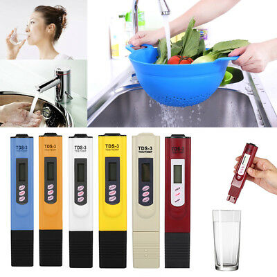 LCD Display Water Quality Testing Pen Purity Filter TDS Meter Tester lot WB1