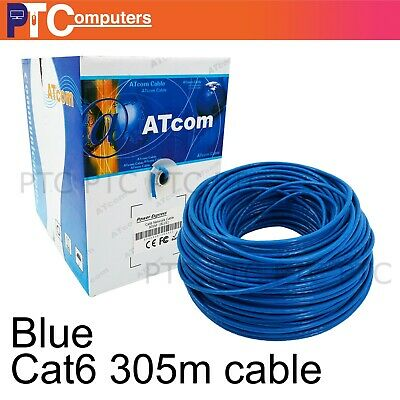 Pick up Cat6 305m UTP Ethernet Network LAN Cable House TV Box PS4 XBOX