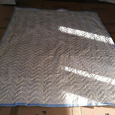 """HEAVY DUTY PROFESSIONAL 80"""" x 72"""" QUILTED MOVING BLANKETS/PADS"""