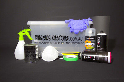 Hydrographics All You Need Dip Kit Hydro dip kit 2sqm POSTAGE INCLUDED