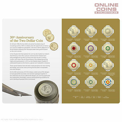 2018 Ram 30Th Anniversary Of The $2 Coin – $2 Twelve Coin Uncirculated Set