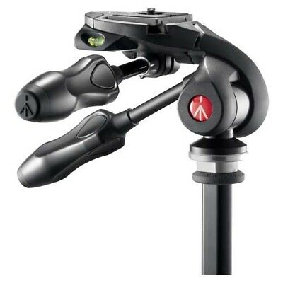 Manfrotto 290 3-Way Photo Head with Foldable Handles with GEN MANFROTTO WARR