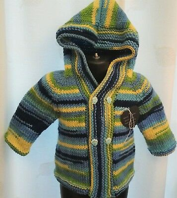 Child's Hoodie Knitting Kit Age 3 - 4 years