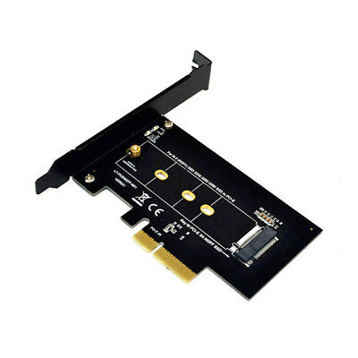 PCI-E 3.0 x4 Host Adapter Card M.2 NGFF SSD to Nvme PCI E M for 2242 2260 2280