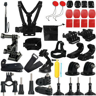 GoPro Accessories Outdoor Sports Camera Bundle Kits for GoPro Hero 5/4/3+/3/2/1