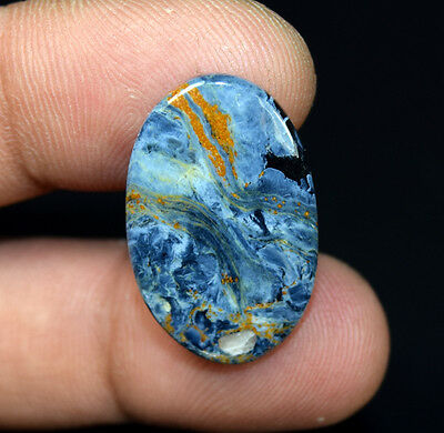 12.95 Cts. 100 % Natural Chatoyant Pietersite Oval Cabochon Loose Gemstones