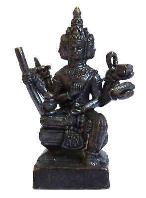 Figurine statuette Phra Phrom Brahma Thailande amulette décoration collection