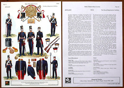 D. & B. FOSTEN The Thin Red Line Pl. n°30 Uniforms of Great Britain & the Empire