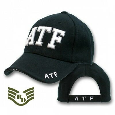 ATF Bureau of Alcohol Tobacco Firearms Law Enforcement Cap USA Police Mütze