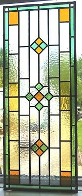 Original Reclaimed Stained Glass Panel - Ref Sg314
