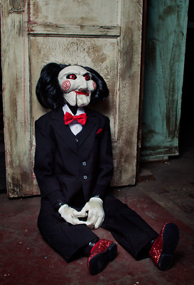 Trick Or Treat Studios Saw Jigsaw 1:1 Billy the Puppet Life Size Doll Pre Order