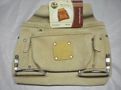 Leather Tool Pouch 8 pocket