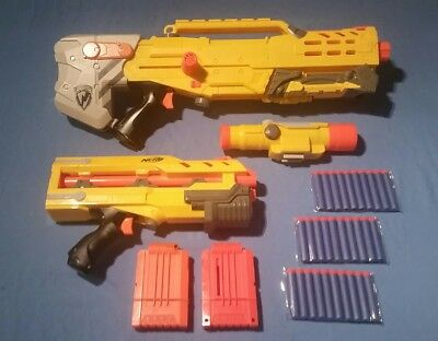 Nerf N-Strike Longshot CS-6, Sniper Rifle, FULLY loaded.