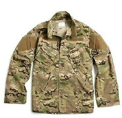 US Army Multicam FR ACU Defender OCP Jacke Coat Made USA MR / Medium Regular