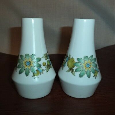 Noritake Progression Japan 2 SALT Shakers COLLEEN Design NEW Ceramic