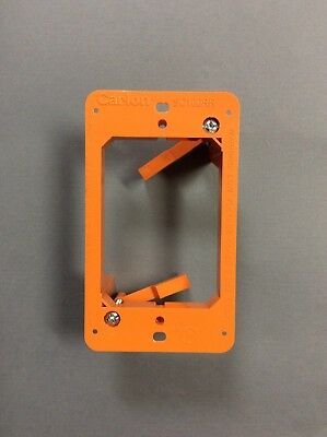5x 1 Gang Low Voltage Wall Plate Bracket Mount Nail-in Old Work Construction