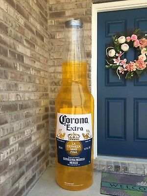 CORONA EXTRA BEER BOTTLE SIGN 6ft TALL INFLATABLE BLOW UP NEW INFLATABLE
