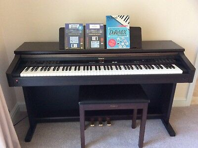 ROLAND KR-370 INTELLIGENT Digital Piano - fully working - Excellent  condition - £226.00 | PicClick UK