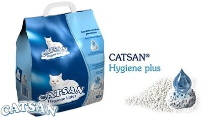 Catsan Hygiene Cat Litter Unique Mineral Granules Patented Odour  Prevention 10L