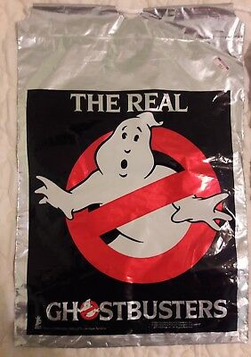 Vintage The Real Ghostbusters Halloween Bag Store Promotional Item - RARE! x 4