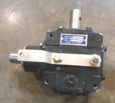 Right Angle 90 Degree Gear Box 4 Bolt Mount 1 To 1 Gear Ratio (161-C6)