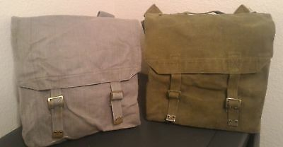 British +Belgium Pattern-37 WWII Dated Military-Issued Canvas Rucksack/Backpacks