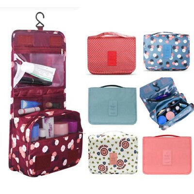 Folding Travel Hanging Toiletry Wash Organizer Cosmetic Storage MakeUp Bag Pouch