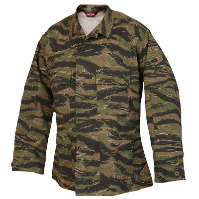 Tru-Spec Vietnam Tiger Stripe BDU Coat 60/40 Cotton/Poly Twill
